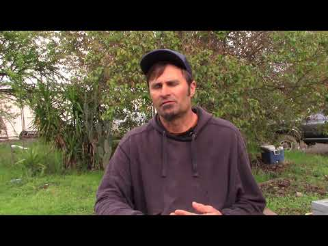 Organic grower Paul Underhill describes soil solarization on his farm