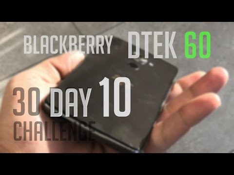 Blackberry Dtek 60 - 30 Day Challenge: Screen and Battery Life