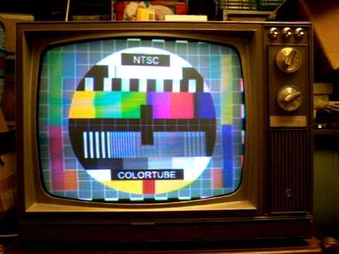 Tv Color Vintage Tube Ntsc Zenith 1968 Televisore A