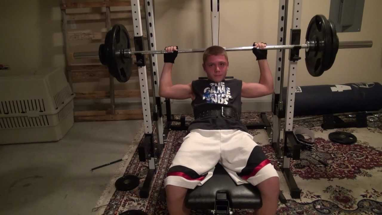 Xavier Fernandez 13 Years Old Bench Pressing 200lbs Youtube