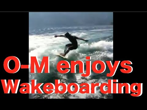 "Osamu""O-M""Okada【琵琶湖WAKE SURF】POWDER COMPANY GUIDES"