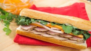 Banh Mi Sandwich w/ Lemongrass Pork - Pai's Kitchen