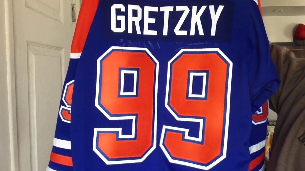 online retailer a6061 5d401 Custom Edmonton Oilers Wayne Gretzky Jersey