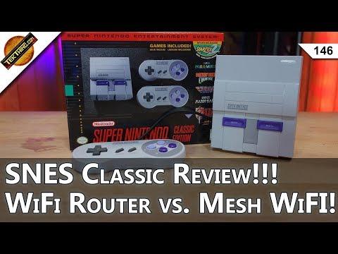 SNES Classic Review!!! $80 WiFi Router vs. $399 Eero Mesh WiFi, Purity Facebook Hack!