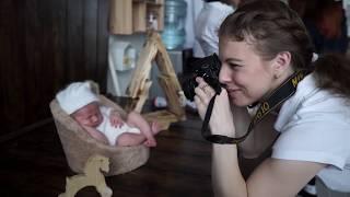 Как проходит фотосессия новорождённого? Семейная фотостудия МАТРЁШКА #matreshka_familystudio