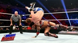 WWE Main Event - Justin Gabriel vs. Curt Hawkins: WWE Main Event, June 5, 2013