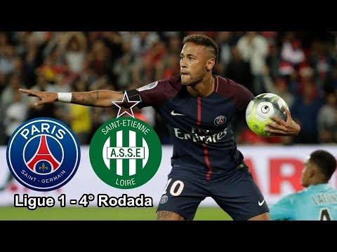 Psg X Saint Etienne  Ligue  Round
