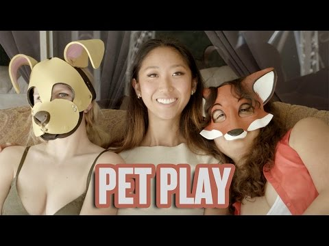 Lesbian Pet Play