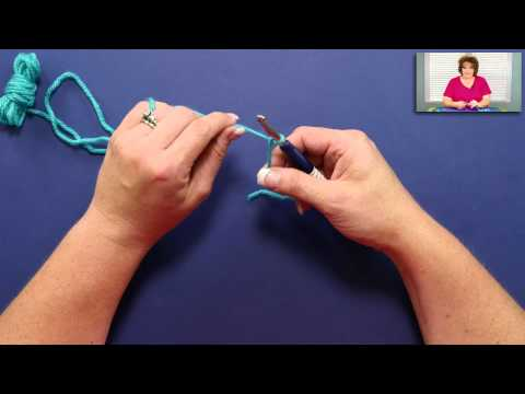 Learn How to Crochet Slip Knot and Chain Stitch with Marly Bird