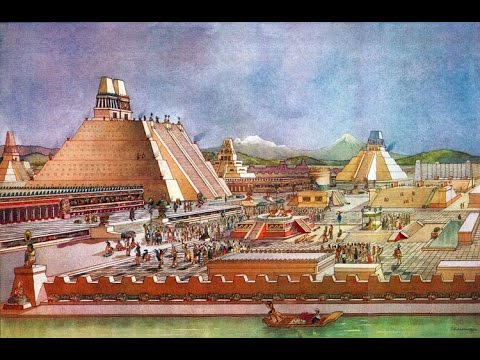Tenochtitlan en 1519 por Eduardo Matos Moctezuma - YouTube