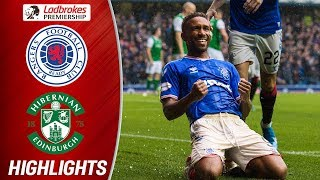 Rangers 6-1 Hibernian | Defoe Hits Perfect Hat-trick As Rangers Run Riot | Ladbrokes Premiership