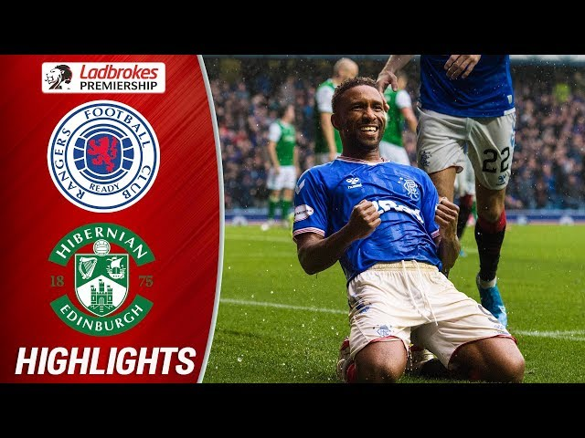 Rangers 6-1 Hibernian | Defoe Hits Perfect Hat-trick As Rangers Run Riot | Ladbrokes Premiership