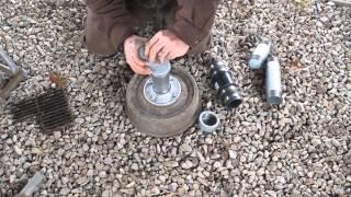 Blacksmithing Part 18 Making a Brake Drum Forge