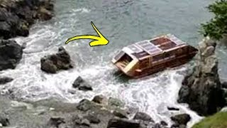 Mystery Boat Washes Up On Ireland's Coast With A Strange Message