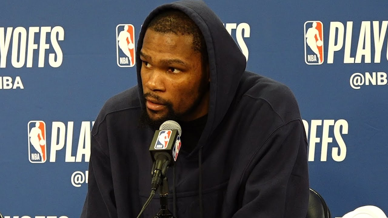 Warriors' Kevin Durant on teams' starting lineup in win versus Pelicans