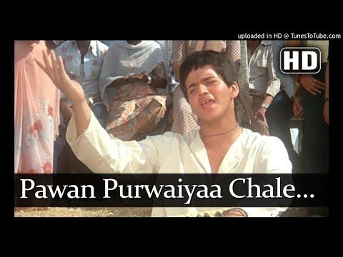 #Kishore Kumar || Pawan Purvaiya Chale || (All-Rounder ) Md-laxmi pyare lyrics-Anand Bakshi 1984