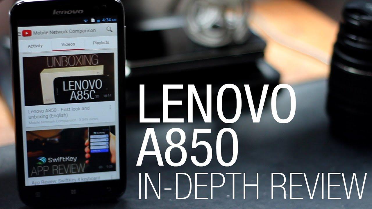 Lenovo A850 čtyřjádorvý dual sim Android, CZ, černý | Here