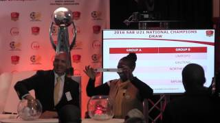 SAB U21 League National Championships draw conducted