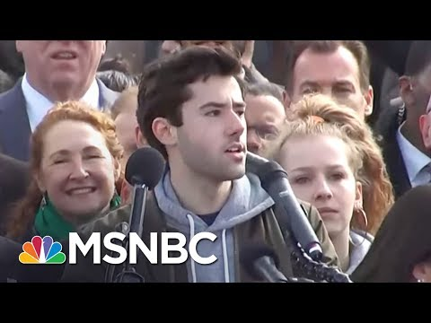 D.C. Mayor Muriel Bowser On March For Our Lives: This Is Incredible | AM Joy | MSNBC