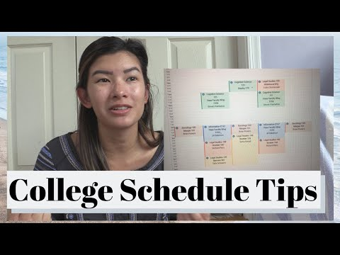 How To Get The PERFECT College Schedule | Class Schedule Tips [College Prep Ep 6]