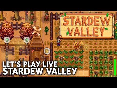 Let's Play Stardew Valley #1 LIVE mit Daniel & Matt