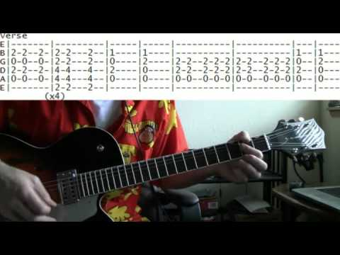 Guitar Lesson Foghat Slow Ride Tab Youtube
