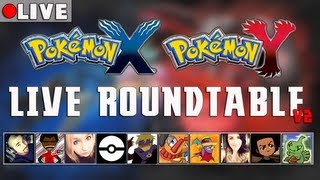 Pokémon X & Pokémon Y Live Round-table [v2]