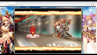 Kamihime PROJECT R - Accessory Quest Rank 7 Mixed Enemies Speedrun