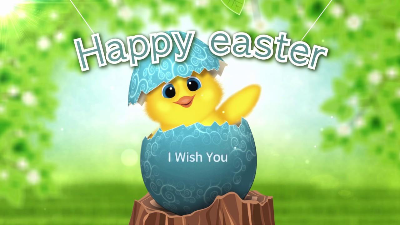 Happy Easter Greetings 2018 Easter Eggs Greetings Youtube