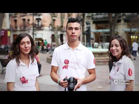 Video de los informadores turísticos de Zaragoza 2012