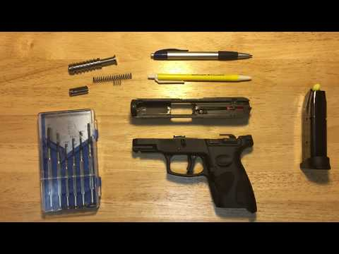 PT111 G2: Firing Pin Springs & Striker Guide Install