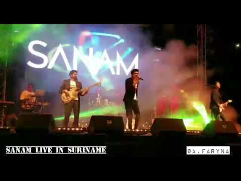 SANAM live in Suriname - Yeh Vaada Raha