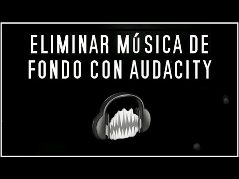 Eliminar la música de fondo de una locución con Audacity