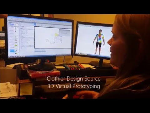 3D virtual prototyping for apparel