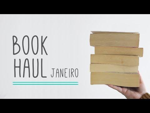 Unboxing e Book Haul Janeiro