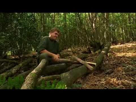 Ray Mears How To Split Wood With A Saw Bushcraft