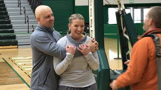 Siena's Ali Jaques helps fiance through cancer fight