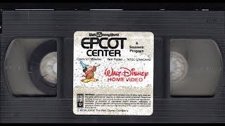 Epcot Center A Souvenir Program (1983)