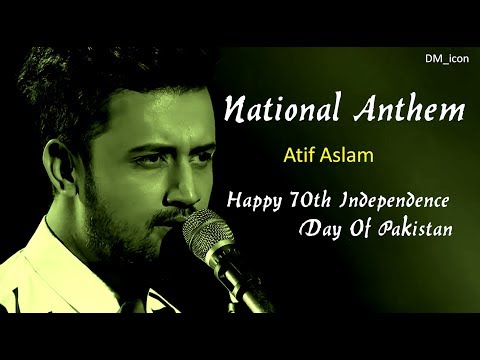 Atif Aslam | National Anthem | Qaumi Tarana | Happy 70th Independence Day Of Pakistan | DM_icon