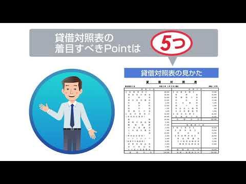 財務学習動画 その1 貸借対照表の見るべきポイント