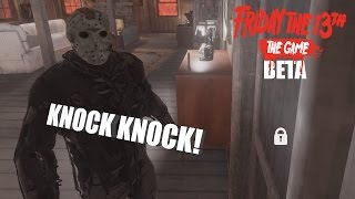 Friday The 13th: The Game JASON VOORHEES GAMEPLAY | KNOCK KNOCK!