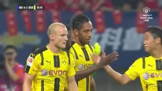 Manchester United - Borussia Dortmund | Highlights & Full Match | 22.07.2016 | fun fus