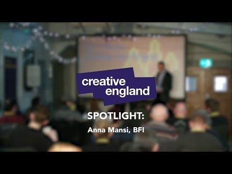 Be More Creative: SPOTLIGHT Anna Mansi, BFI