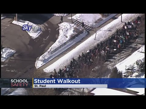 Students March To Capitol To Protest Gun Violence As Gov. Issues School Safety Proposal