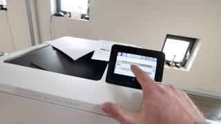 HP Color LaserJet Enterprise M553 Hands On [4K UHD]