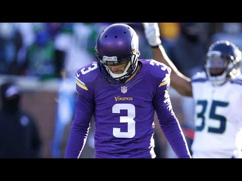 Every Blair Walsh Missed Field Goal of His Career
