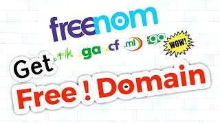 How to Get Free Domain Name ( Hindi/Urdu ) by Kaise Help