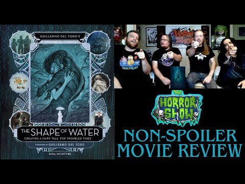 """The Shape of Water"" 2017 Guillermo Del Toro Non-Spoiler Movie Review - The Horror Show"