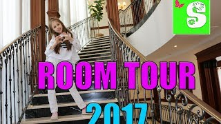 💋 ROOM TOUR 2017 😸 РУМ ТУР 💋  ТУР ПО ШИКАРНОЙ ВИЛЛЕ 💋 MY HOUSE TOUR FOR KIDS CHILDREN ДЛЯ ДЕТЕЙ