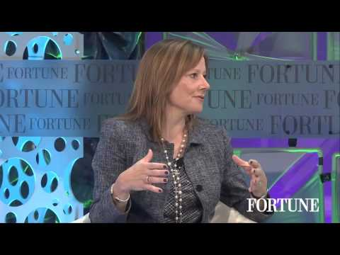 Mary Barra on autonomous cars | Fortune MPW